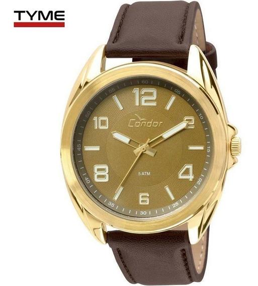Relógio Condor Masculino Co2035klu/4x Couro - C/ Nota Fiscal