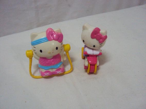 2 Hello Kitty A Corda Lacta Sanrio 2011 Tamanho 7cm
