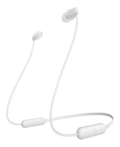 Imagem 1 de 4 de Fone De Ouvido Bluetooth Intra Auricular Wi C200 Branco