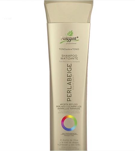 Naissant Shampoo Perla Beige Tono Sobre - mL a $80