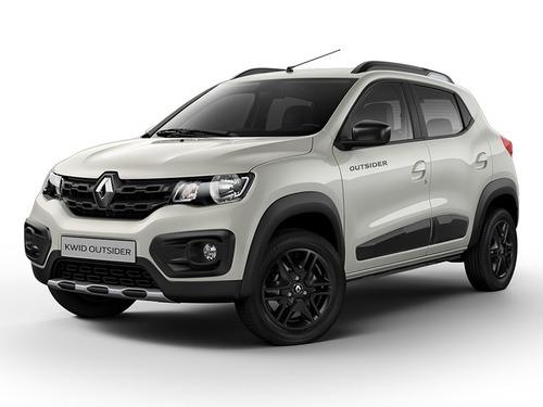 Renault Kwid 1.0 Outsider Beige 0km 2021 Contado Financiado