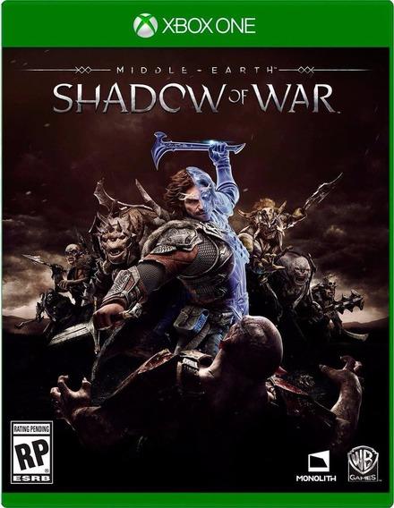 Terra Média Sombras Da Guerra - Xbox One - Modo Offline