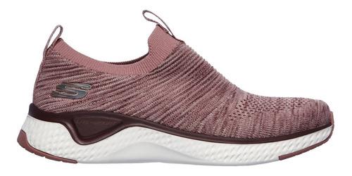 Zapatillas Skechers Mujer S/ Cordones Elastizadas Memory Fom