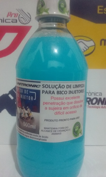 Detergente Para Limpeza De Bico Injetores ( Profissional )