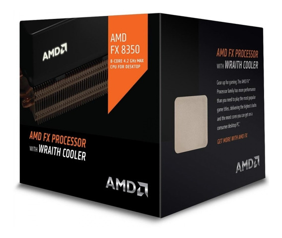 Processador Amd Fx 8350 4ghz 16mb Cache Wraith Cooler Am3+