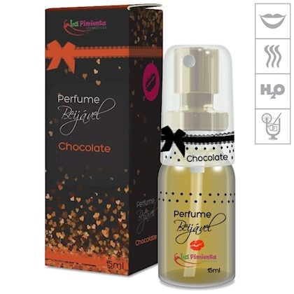 Perfume Beijável 15ml - Chocolate
