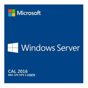 25 Cal Acesso Remoto Rds/ts Windows Server 2016 User / Devic