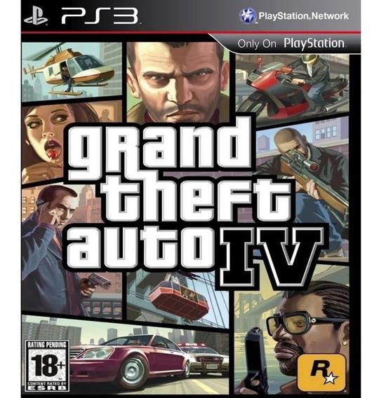 Grand Theft Auto 4 Ps3 - Leia Descrição