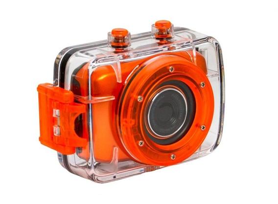 Câmera E Filmadora Digital De Ação Hd Caixa Estanque Vivitar