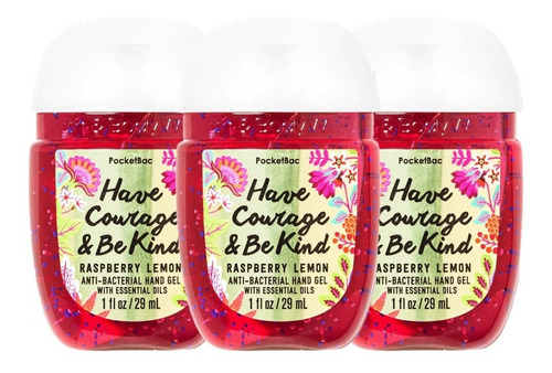 Gel Antibacterial Bath & Body Works Have Courage Be Kind 3pz