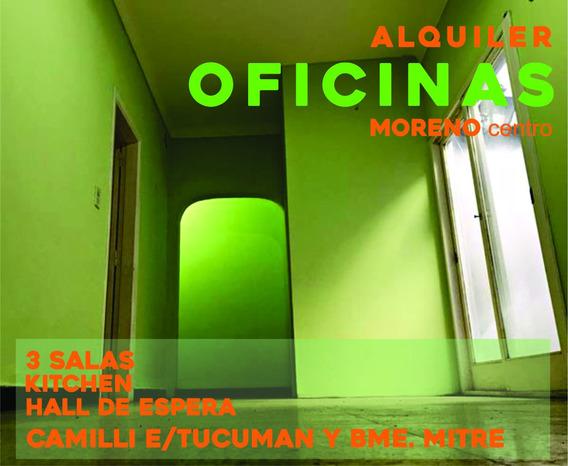 Oficinas /consultorio Alquiler Moreno Centro