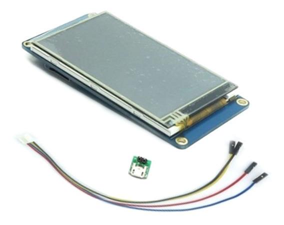 Tela Lcd Ihm Nextion 3.2 Tft 400x240 Touch Serial Arduino