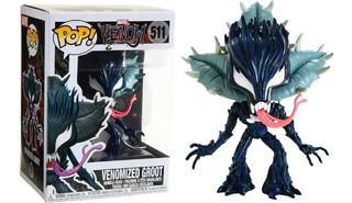 Funko Pop # 511 Marvel Venom Venomized Groot