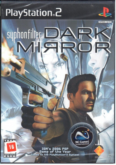 Syphon Filter Dark Mirror Ps2 Game Original Lacrado