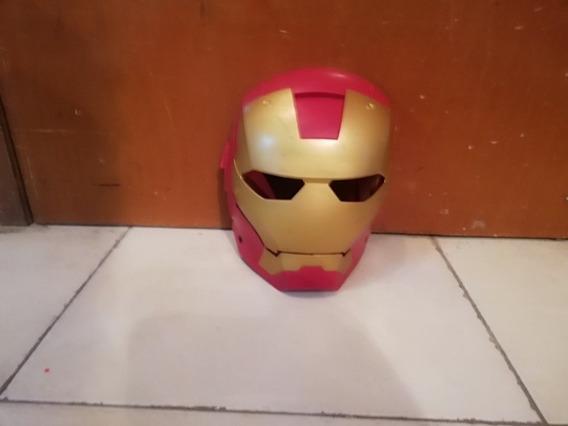 Iron Man Avengers Hasbro Máscara Careta De Iron Man