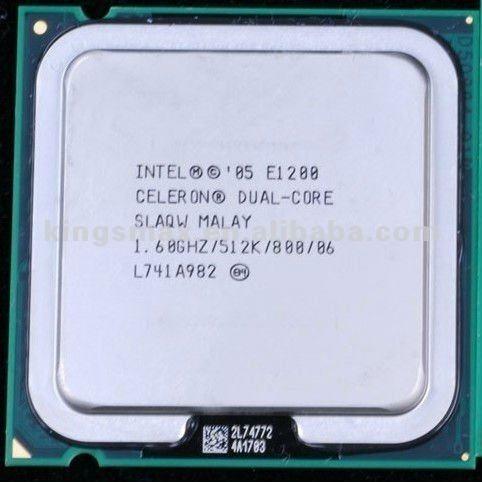 Processador Celeron Dual Core 1.60ghz E1200 775