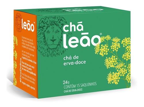 Imagem 1 de 1 de Chá Leão Ervas - Erva-doce - 15 Sachês