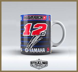 Taza Fierrera Motogp - Maverick Viñales 12 | Yamaha / Mack
