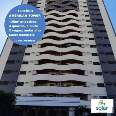 Apartamento Com 4 Quarto(s) No Bairro Jardim Das Americas Em Cuiabá - Mt - 00471