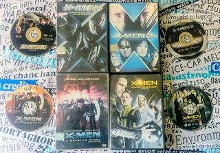 Colección X - Men - Original ( 4 Dvds )