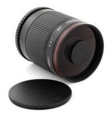 Lente Telefoto 500mm F/8 Mirror P Sony Alpha Minolta A37 A57