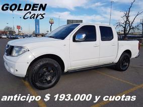 Nissan Frontier 4x4 Xe 2.8 140cv 2010 $ 193.000 Y Cuotas