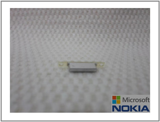 Nokia Lumia 925 - Botão Power Externo Lateral Cinza Claro