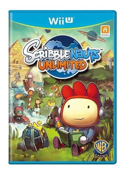 Scribblenauts Unlimited Seminovo Oferta! Loja Física!