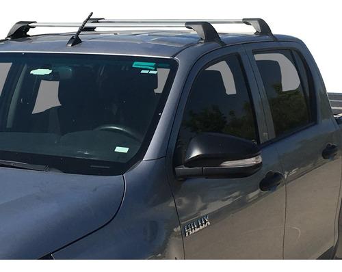 Barras Portaequipaje Transversales Toyota Hilux 2007 - 2019