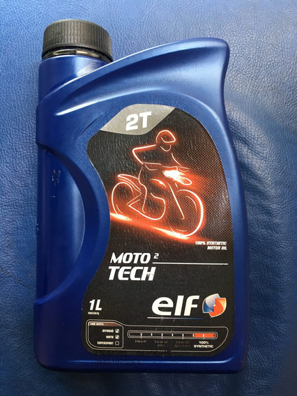 Óleo 2 Tempos Elf Moto Tech 100% Sintético