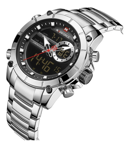 Relógio Masculino Digital Esportivo Naviforce Top Lançamento
