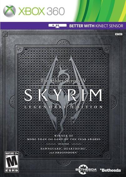 Skyrim The Elder Scrolls V Iegendary Xbox 360 Original