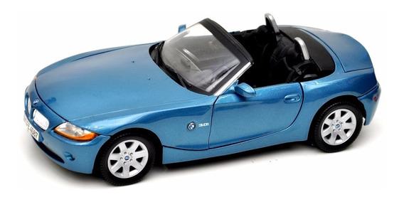 Bmw Z4 1:18 Motormax Carros Miniaturas Réplicas Coleção