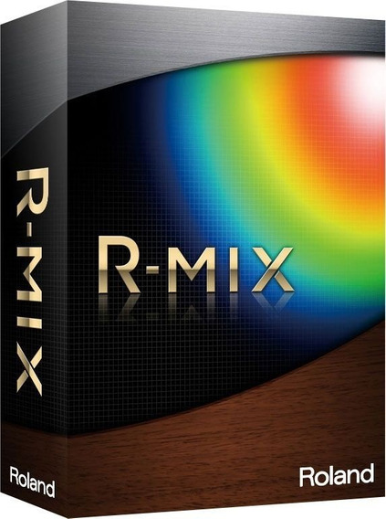 Software Roland R Mix Processamento De Audio