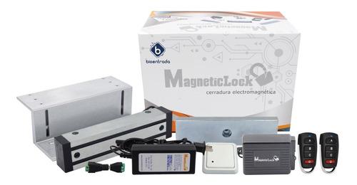 Electroimán Inalámbrico 400lb | Control De Acceso | Botón