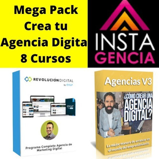 Mega Pack Agencia Marketing Digital - 8 Cursos Completos