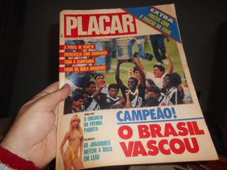 Revista Placar Vasco Campeão Brasileiro Raridade