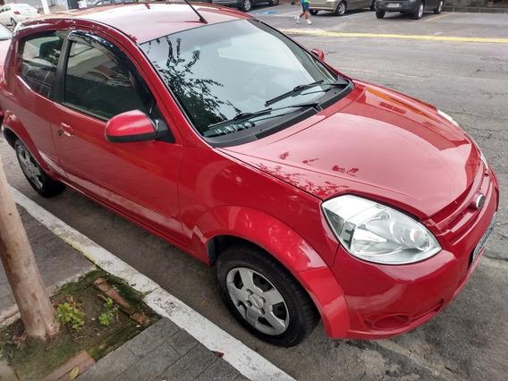 Ford Ka Vermelho 3 Portas Fabricação 2009 Modelo 2010