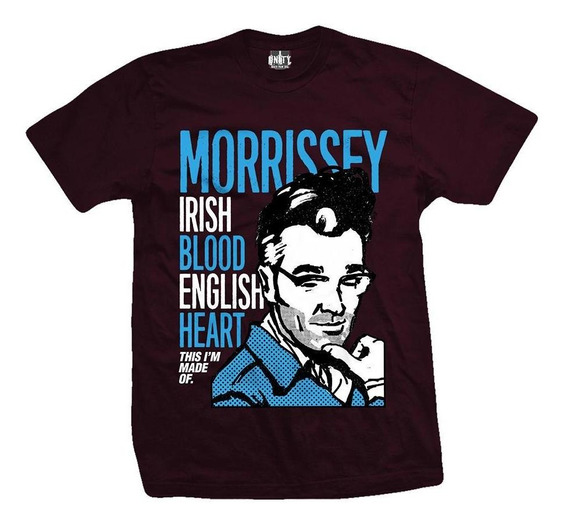 Remera Morrisey Irish Blood English