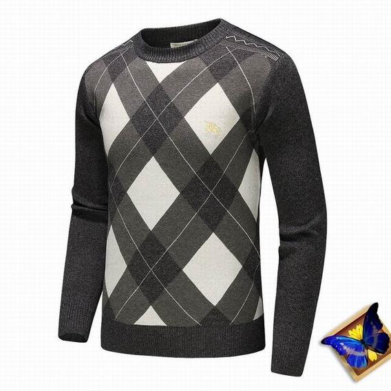 Suéter/blusa De Linho Burberry - Pronta Entrega - Exclusiva