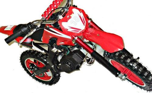 Mini Moto A Gasolina 49cc Infantil 0km Aro 10