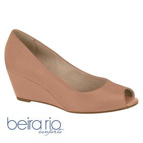 f7aca99c7 Scarpins e Plataformas Peep Toes Beira Rio para Feminino no Mercado ...