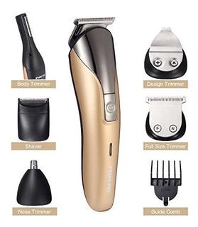 Luckyfine Juego De Afeitadora Electrica Para Hombre 11 En 1