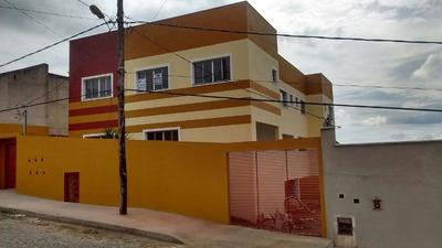 Casa Geminada Com 2 Quartos Para Comprar No São Benedito Em Santa Luzia/mg - Ec13328