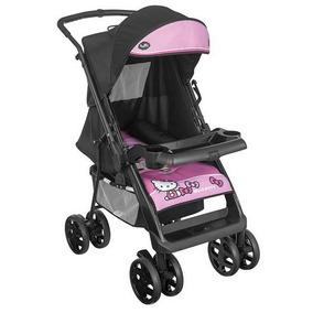 Carrinho De Bebê Hello Kitty Tutti Baby Rosa