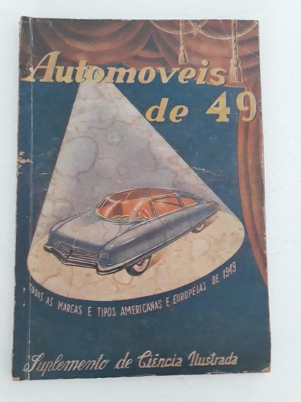 Suplemento Revista Todos Carros 1949 Issota Alfa Gm Ford ...