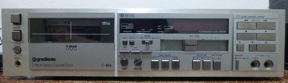 3 Head Stereo Cassette Deck C-484 Gradiente