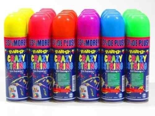 Imagen 1 de 6 de Serpentina En Spray -todo Acá Mejores Precios  X10unid.