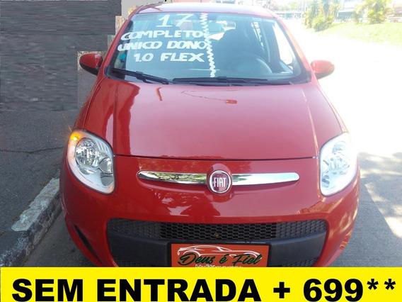 Fiat Palio 1.0 Attractive 5p Flex Completo Unico Dono