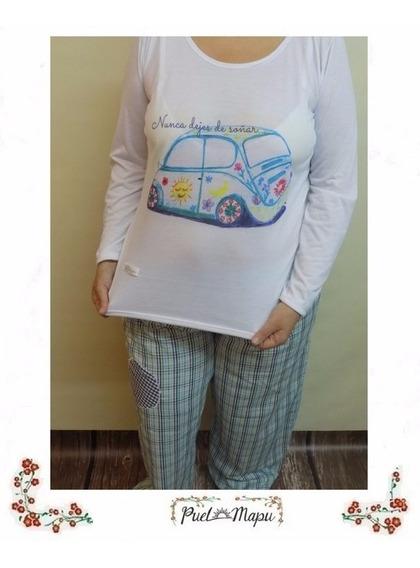 Pijama De Mujer De Invierno